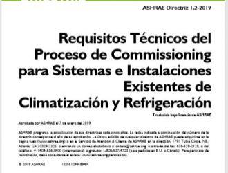 Directriz ASHRAE 1.2 - 2019