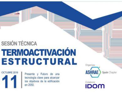 Jornada Técnica Termoactivación Estructural