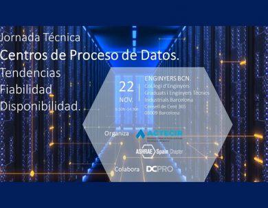 Jornada Técnica sobre Data Centers ASHRAE Spain Chapter - ACTECIR
