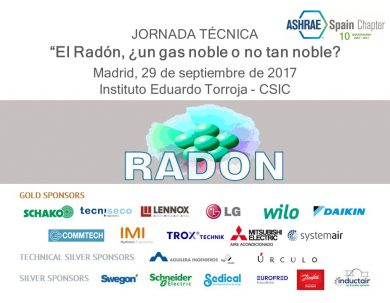 JORNADA TÉCNICA - EL Radón, ¿un gas noble o no tan noble?