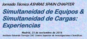 JORNADA TECNICA – SIMULTANEIDAD DE EQUIPOS & SIMULTANEIDAD DE CARGAS: EXPERIENCIAS