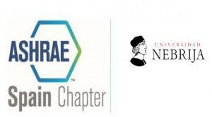 Logo ASHRAE Universidad de Nebrija